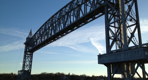 Cape Cod Railroad Bridge- North Side of Canal